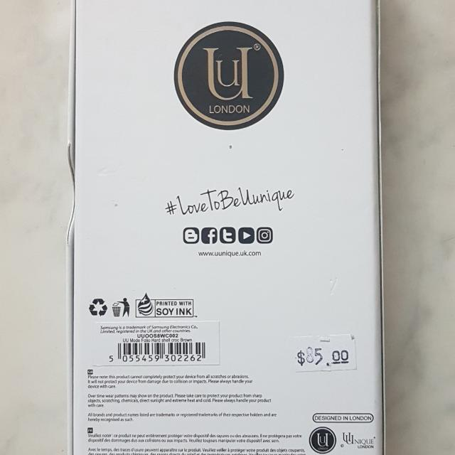 Brand New Uunique London Phone Case