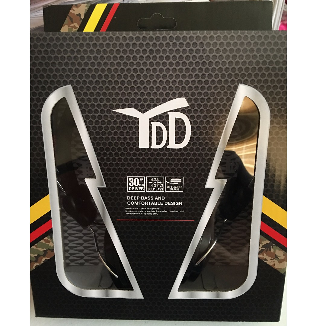 Brandnew YDD Multimedia Stereo Headphones