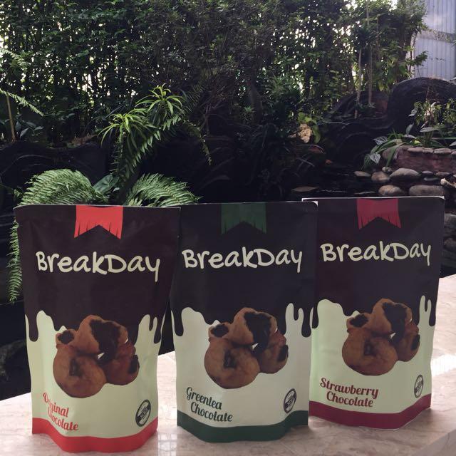 Breakday Premium Soes Cemilan / Snack Bandung