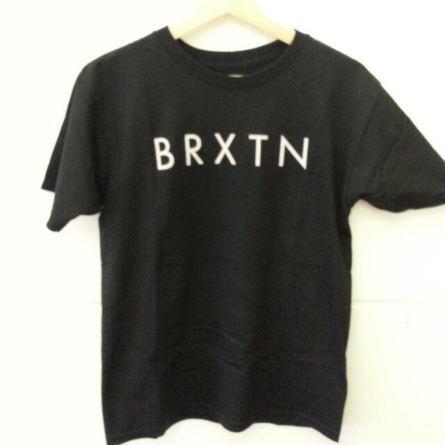 Brixton 黑色短袖上衣 全新 Size : S 保證正品
