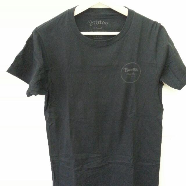Brixton 黑色短袖上衣 九成新 Size : S 保證正品