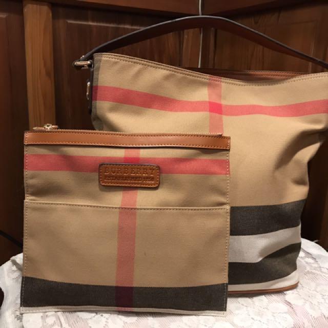 Burberry 水桶包側背包