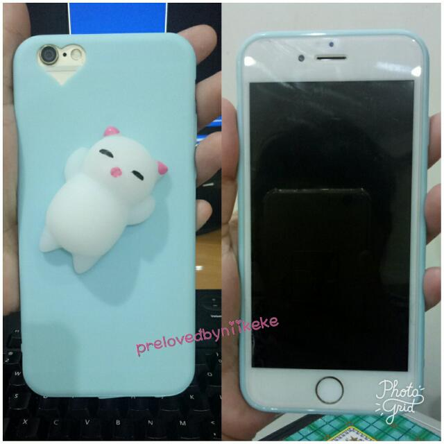 Squishy Case /jelly /Silicon Iphone 6 Cute Blue