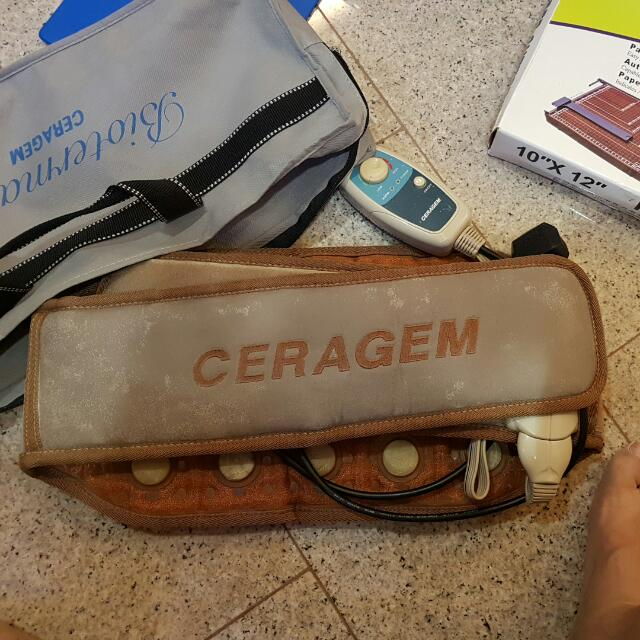Ceragem Therapeutic Waist Massage Belt, Health & Beauty