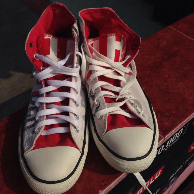 Converse Red Edition Ori