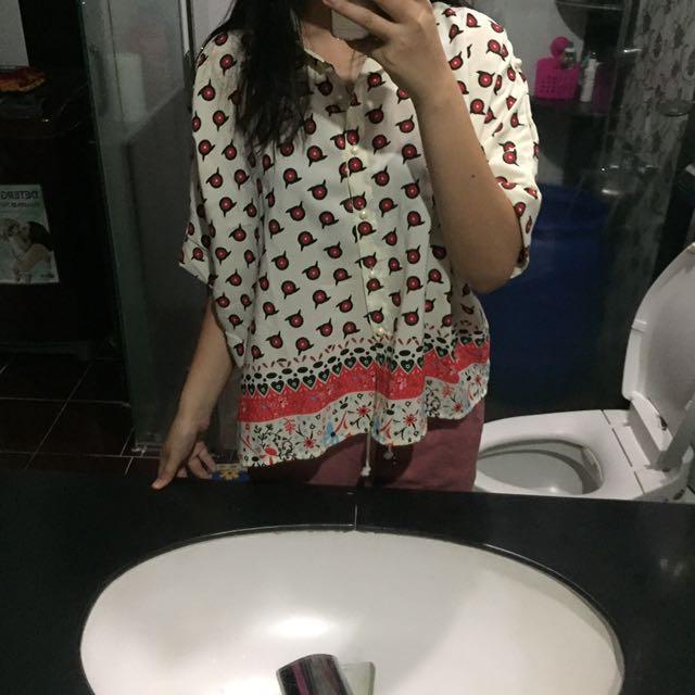 cute oversized top