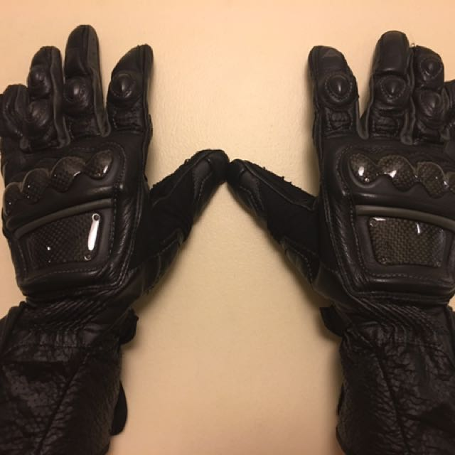 Dainese Long Race Gloves With Carbon Reinforcement