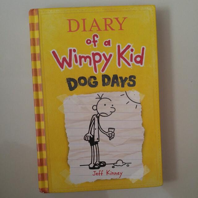 Novel - Diary Of A Wimpy Kid