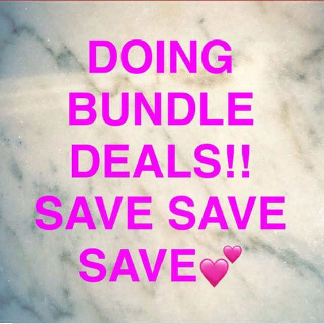 DISCOUNTS ON BUNDLES!!!!