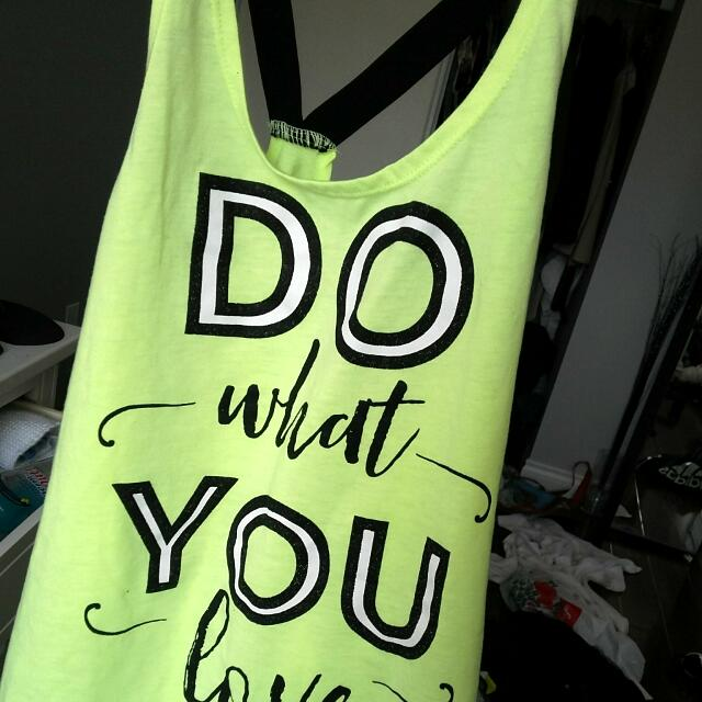Do What You Love Tank