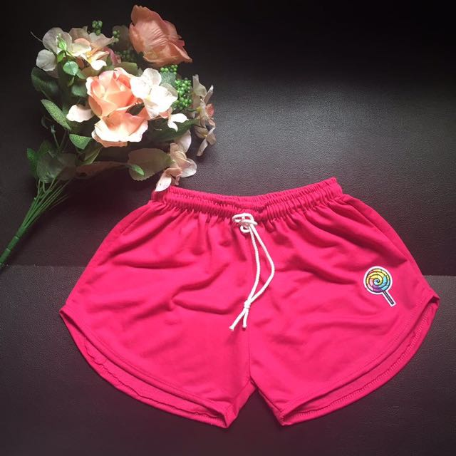 Dolphin Short with Patches