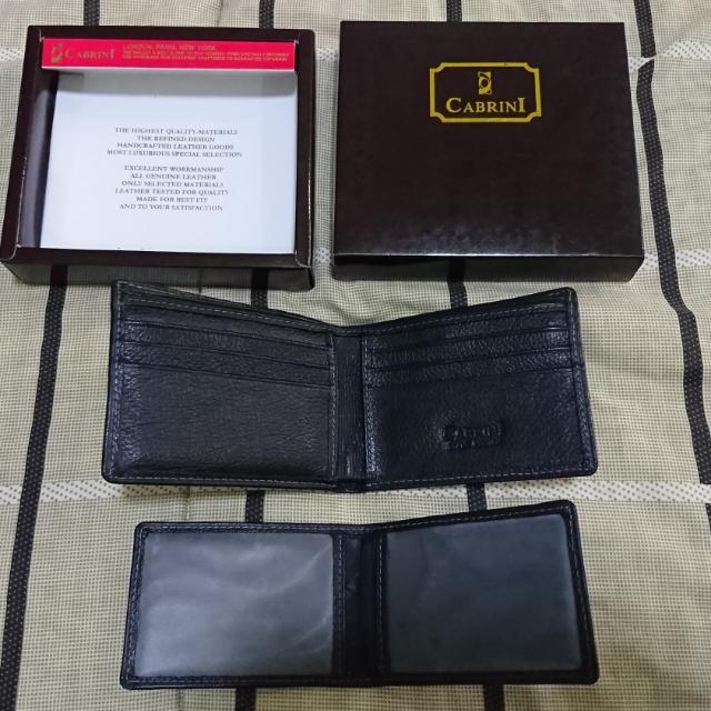 dompet kulit cabrini hitam