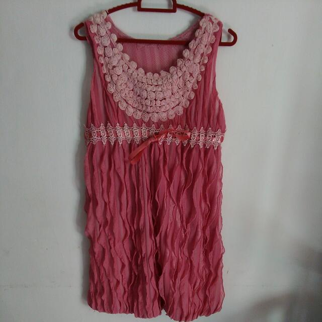 Dress Warna Pink