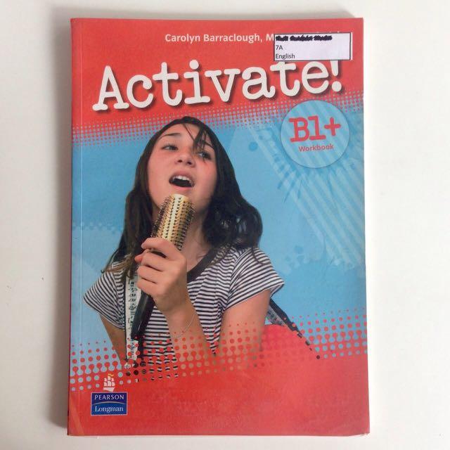 Решебник для activate b1+