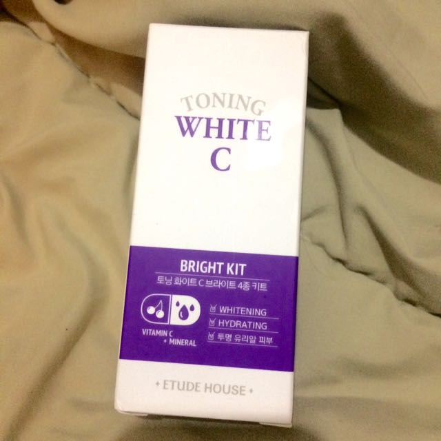Etude House Toning White C Bright Kit