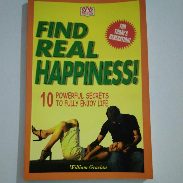 Find Real Happiness