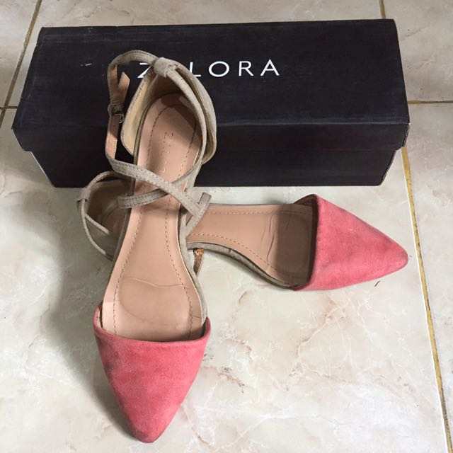 flat shoes zalora