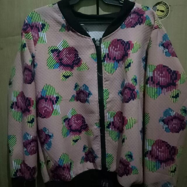 Floral Pinkish Jacket