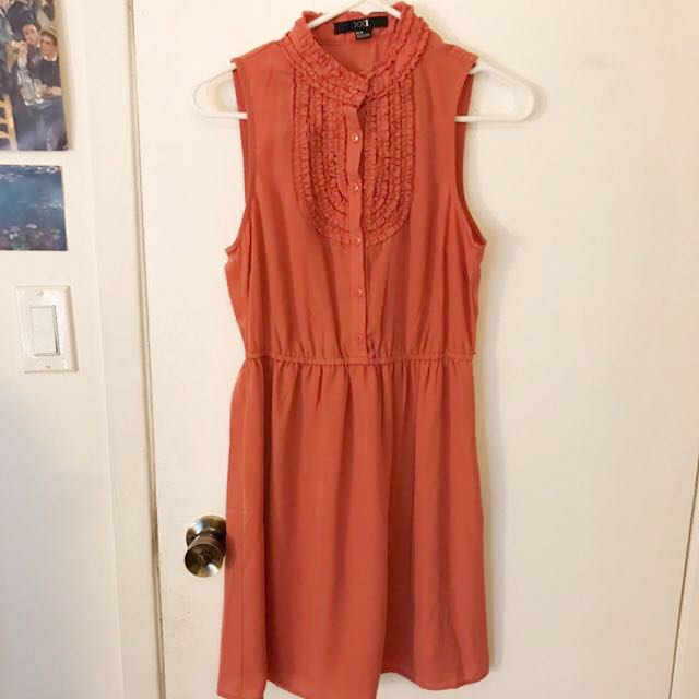 Forever21 Coral Dress Size M