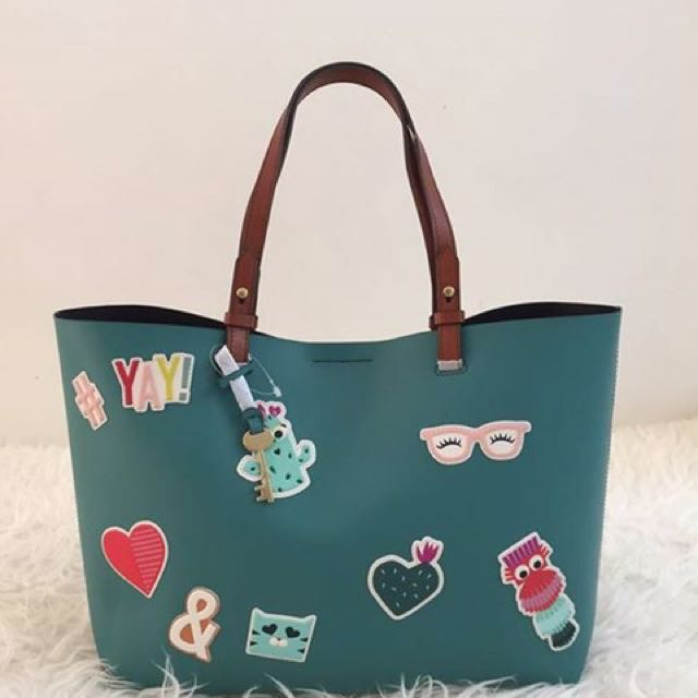 Fossil Rachel Tote Authentic 100% From HK