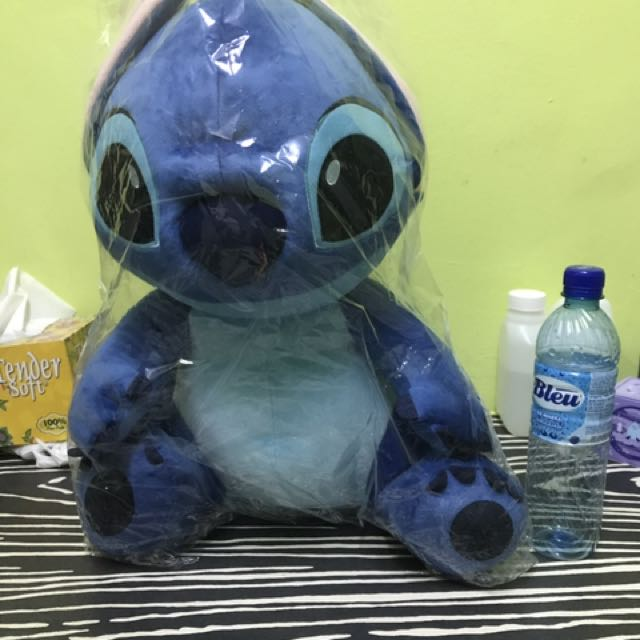 Flounder Stuffed Animal, Giant Stitch Plush Toy Toys Games Bricks Figurines On Carousell