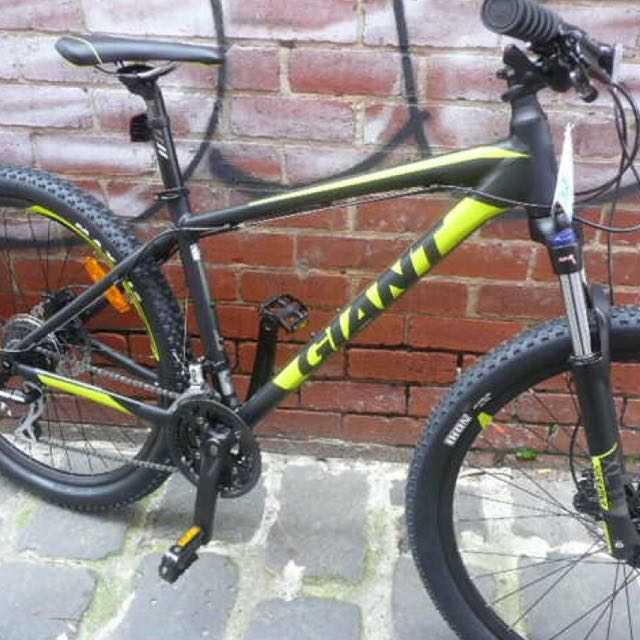 Giant Talon 3 2017 Mountain Bike Black Green Or Black Orange