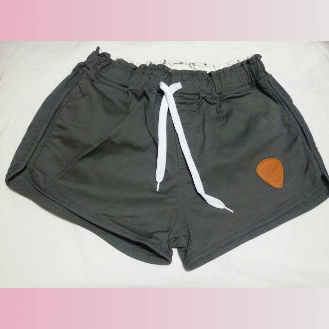 Gray Jogger Short