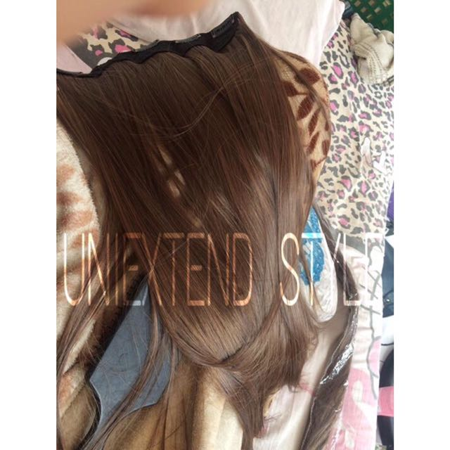 Hair Extension Preloved Health Beauty Hair Care On Carousell