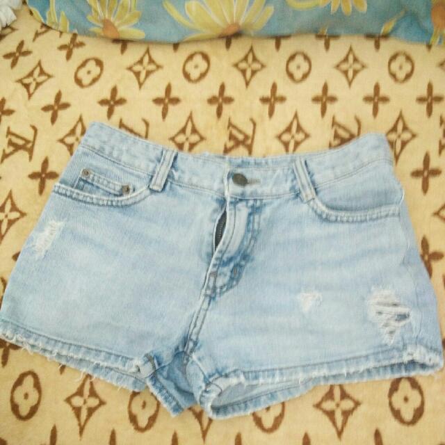 Hotpants Soft Blue