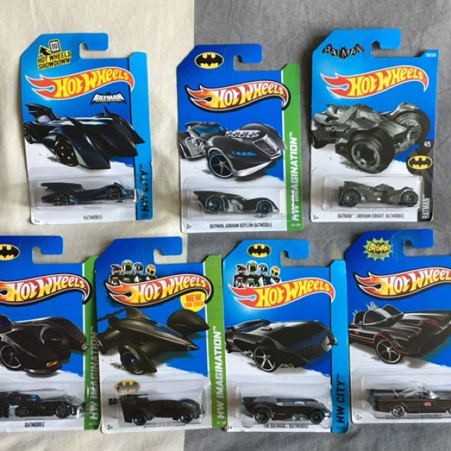 Hotwheels Batman Troops