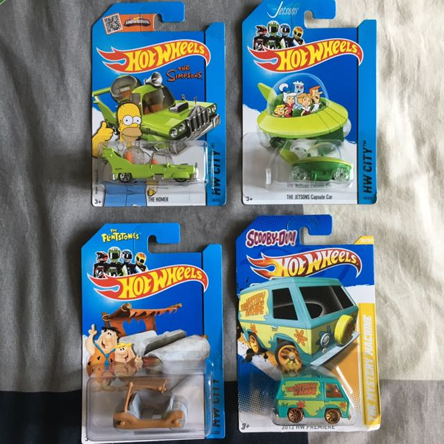 Hotwheels Cartoon Series