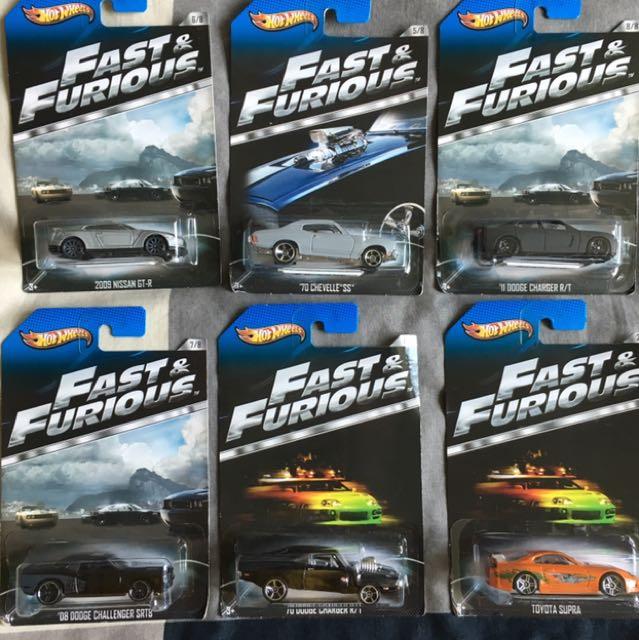 Hotwheels Fast Furious