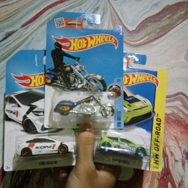 Hotwheels Paket 100rb