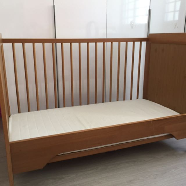 best sneakers 0fb8a 0c059 Ikea Sundvik Baby Cot Toddler Bed
