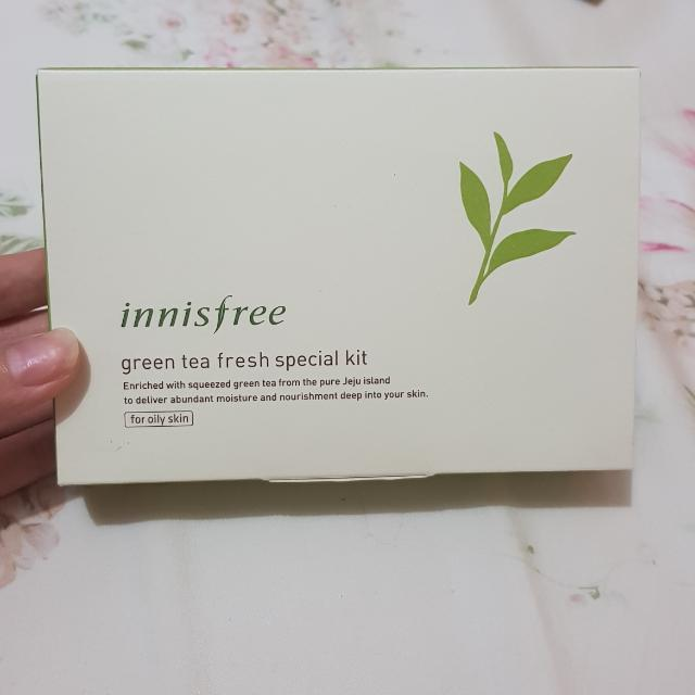 Innis Free Green Tea Set