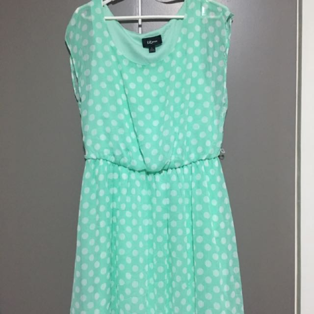 IZ Byer Polkadots Dress