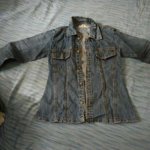 Turun Harga Jacket Jeans Wanita