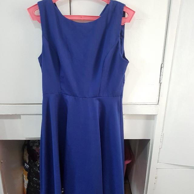 Jellybean Blue Dress