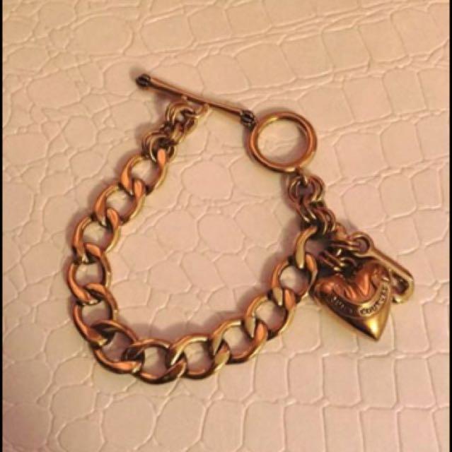 Juicy Courture Gold Tone Bracelet