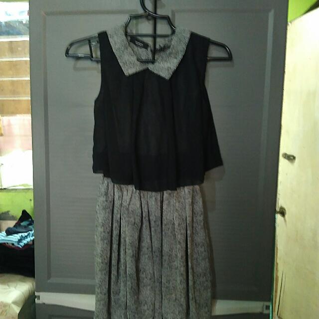 Korean Collar Dress