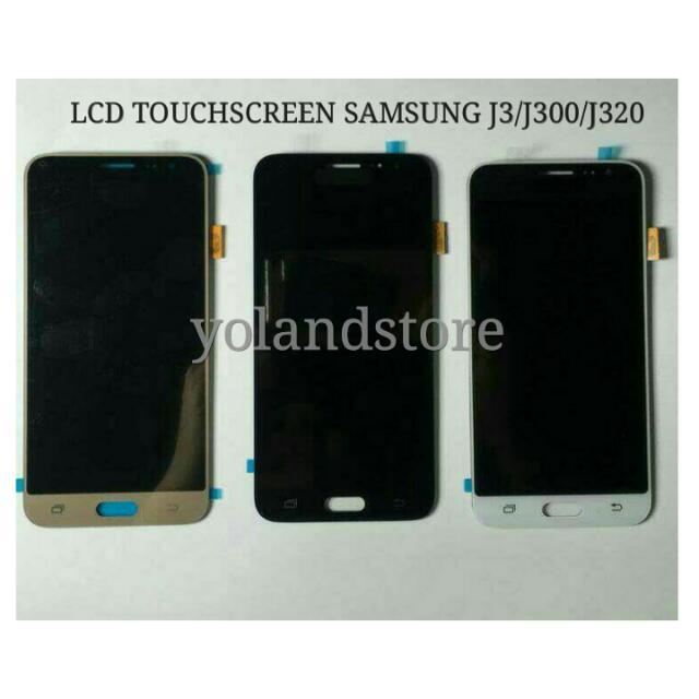 LCD TOUCHSCREEN SAMSUNG J3/J300/J320 FULLSET ORIGINAL