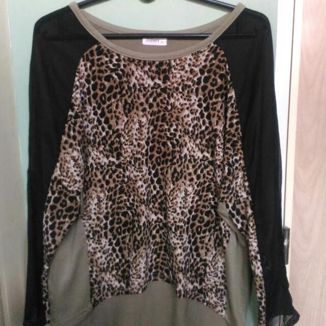 Leopard Print Stylish Top