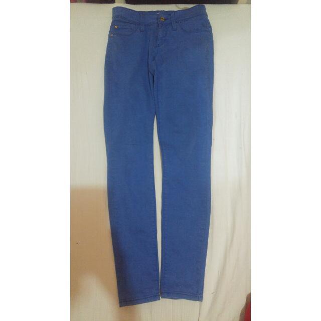 MANGO Light Blue Jeans