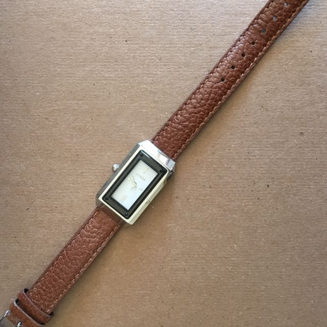 Mimco Leather Brown Watch Just Needs New Battery