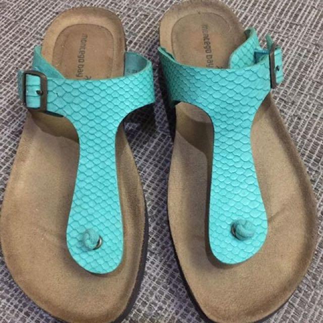 Montego Bay  - Green Sandals