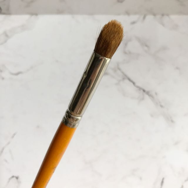MUFE Curved Eyeshadow Brush 18S