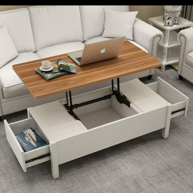 Multi Function Coffee Table Furniture Tables Chairs On Carousell