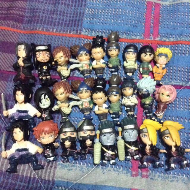 Naruto Shipudden: Small Character Collectibles