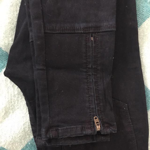 Navy blue Skinny Leg jeans Size 6