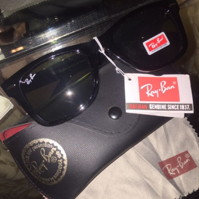 New Authentic Ray Ban Wayfarer Sunglasses BR 2140